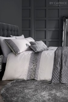 Caprice Exclusive to Next Monroe Luxury Embellished Duvet Cover and Pillowcase Set
