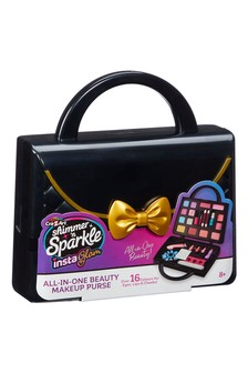 Shimmer N Sparkle Insta Glam All-In-One Beauty Make-Up Purse