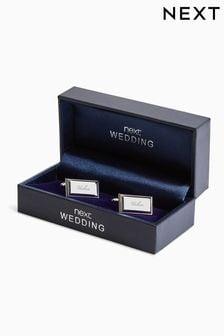 """Свадьба - запонки с надписью """"Usher"""""""