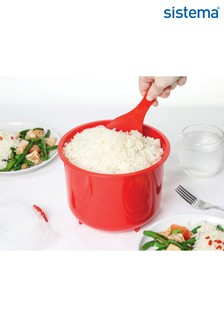 Sistema Microwave Rice Steamer And Food Carrier