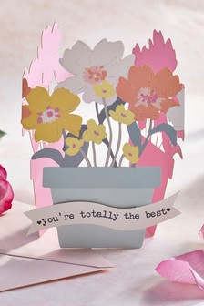 Fold Out Floral Mother's Day Card