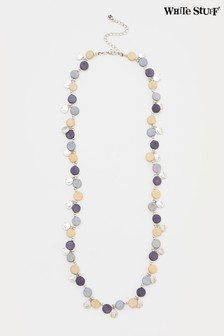 White Stuff Denim Multi Versatile Short Necklace