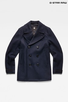 G-Star Traction Wool Blend Peacoat