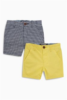 Chino Shorts Two Pack (3mths-6yrs)