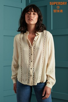 Superdry Amelie Lace Shirt