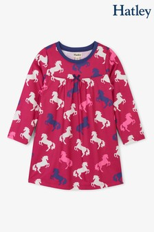 Hatley Pink Playful Horses Nightdress