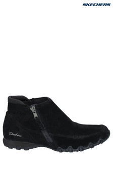 Skechers® Black Bikers Boots