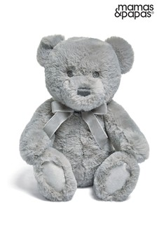 Welcome To The World Soft Toy Fur Teddy Bear By Mamas & Papas