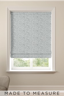 Gilley Spa Blue Made To Measure Roman Blind