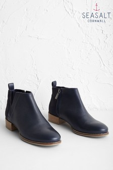 Seasalt Blue Shoreline Boots