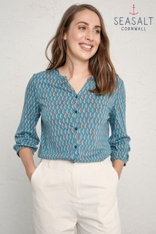Seasalt Blue Port Mear Top