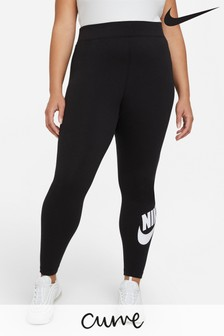 Nike Curve Black Essential High Waisted Leggings