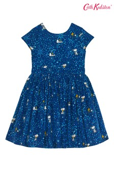 Cath Kidston® Snoopy Midnight Stars Charlotte V-Back Dress