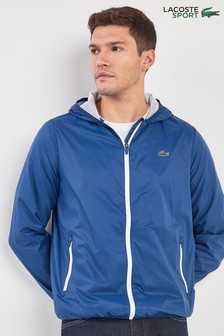 Lacoste® Sport Inkwell Hooded Jacket