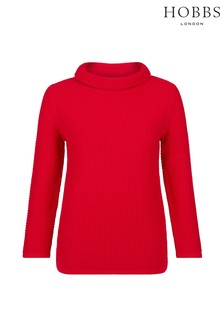 Hobbs Red Camilla Sweater