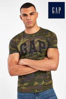 Gap Green Camo T-Shirt