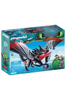 DreamWorks Dragons 70039 Deathgripper With Grimmel by Playmobil®