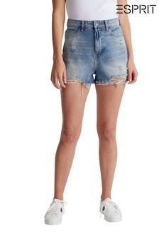 Esprit Blue Festival Denim Shorts