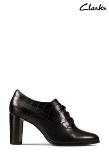 Clarks Black Kaylin Ida Shoes
