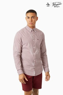 Original Penguin® Long Sleeve Gingham Shirt