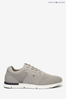 Tommy Hilfiger Grey Tobias Knit Trainers