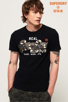 Superdry Vintage Logo Camo Midweight T-shirt