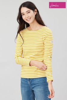 Joules Gold Harbour Long Sleeve Jersey Top