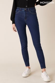 Monsoon Blue Azura Premium Regular Jeans With Sustainable Fabric