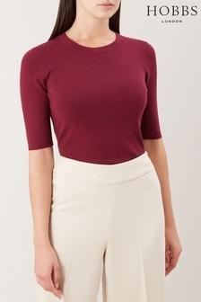 Hobbs Red Rachel Sweater