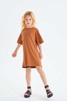 Jersey Longline T-Shirt (3-16yrs)