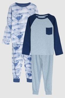 Dinosaur Pyjamas Two Pack (3-14yrs)
