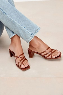 Strappy Mule Sandals