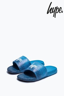 Hype. Blue Speckle Fade Sliders