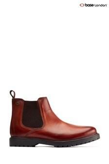 Base London® Tan Anvil Chelsea Boots