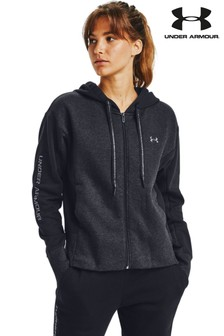 Under Armour Rival Fleece Embroidery Full Zip Hoody