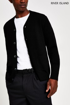 River Island Black Fine Cardigan