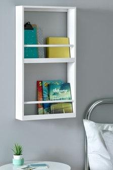 White XL Nursery Bookshelf