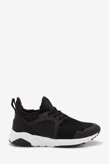 Elastic Lace Trainers