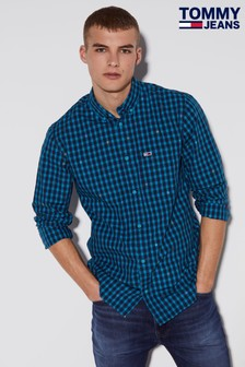 Tommy Jeans Branded Gingham Shirt