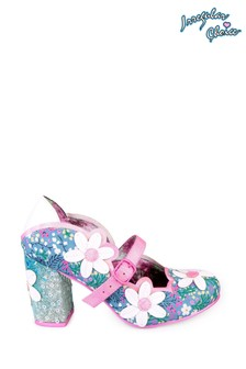 Irregular Choice Blue Daisy Dancer High Heels
