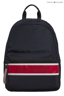 Tommy Hilfiger Blue Branded Backpack