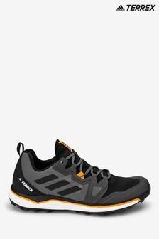 adidas Terrex Navy/Orange Agravic Trainers