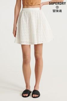 Superdry Blair Broderie Skirt