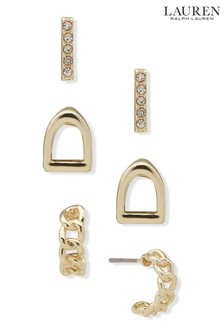 Lauren Ralph Lauren® Trio of Stud Earrings Set