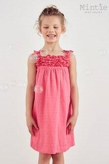 Mintie by Mint Velvet Pink Strappy Summer Dress