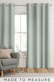 Pionna Seafoam Green Made To Measure Curtains