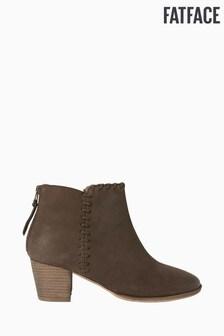 FatFace Acorn Stitch Detail Heel Boots