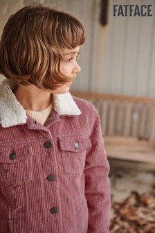 FatFace Pink Cord Jacket