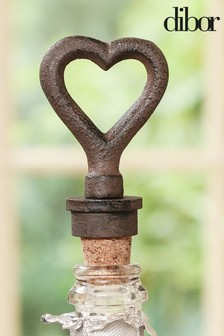Heart Bottle Stopper by Dibor