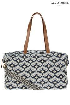 Accessorize Blue Heart Nomad Weekender Bag